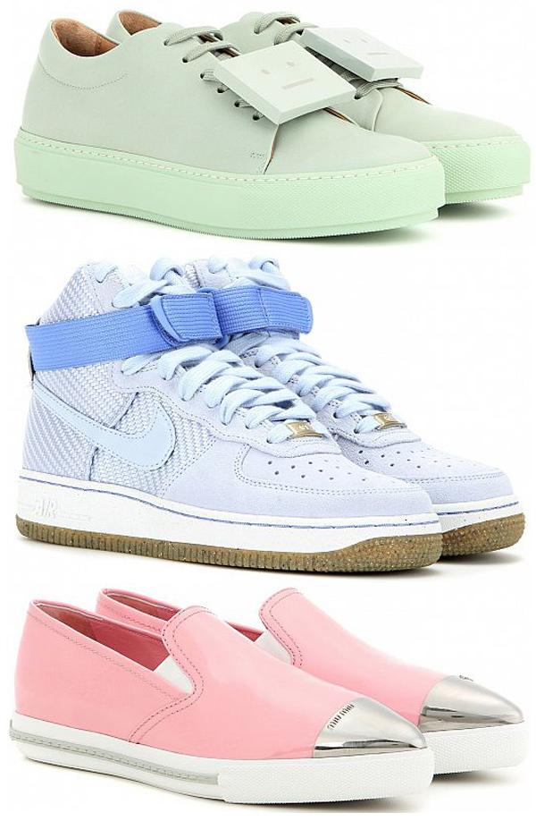 sneakers-pastel